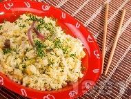 Рецепта Варен ориз с аншоа, кокос и джинджифил